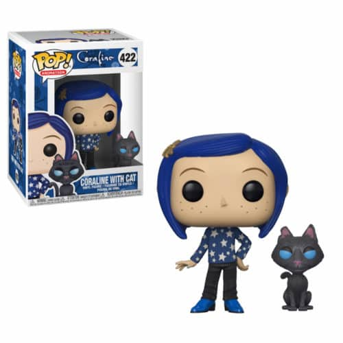 Coraline With Cat Funko Pop