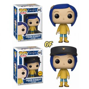 Coraline in Raincoat Funko Pop