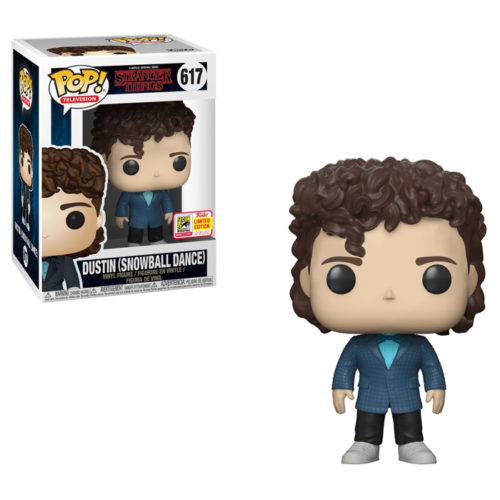 Dustin Snowball Dance Funko Pop