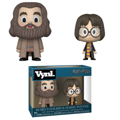 Hagrid and Harry Vynl 2-pack