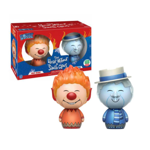 Heat Miser and Snow Miser Dorbz 2-pack