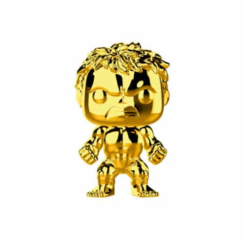 Hulk Gold Chrome Funko Pop