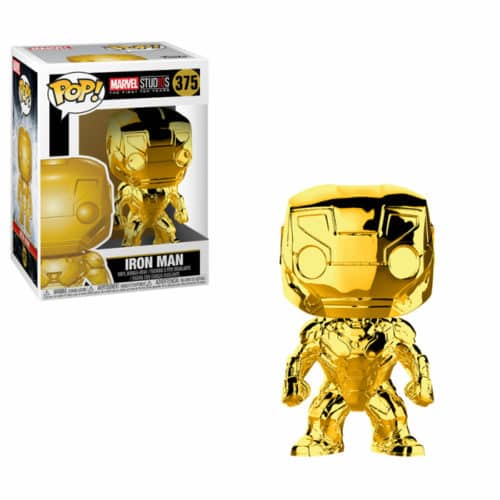 Iron Man Gold Chrome Funko Pop