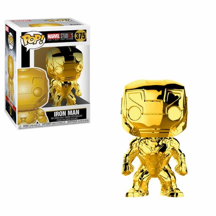 Iron Man Gold Chrome Funko Pop