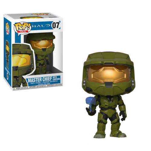 Master Chief with Cortana Funko Pop