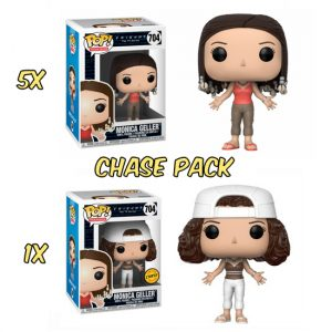 Monica Geller Chase Pack Funko Pop