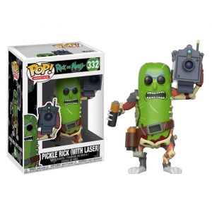 Pickle Rick with Laser Funko Pop