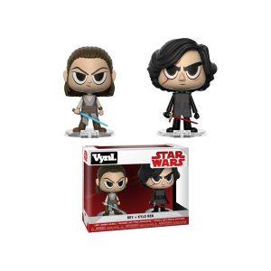 Rey and Kylo Ren Vynl Funko