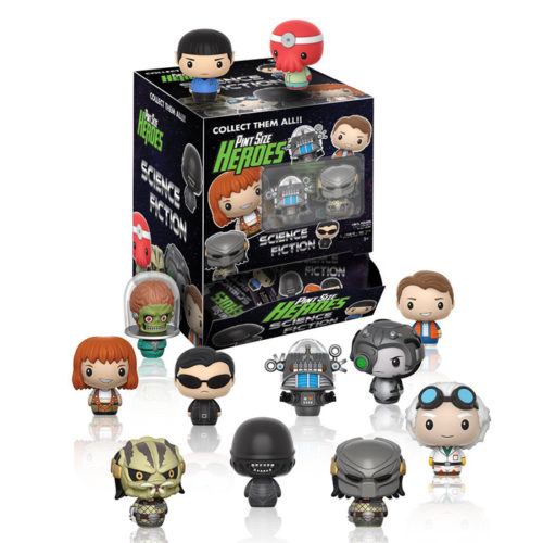 Science Fiction Film & TV Pint Size Heroes