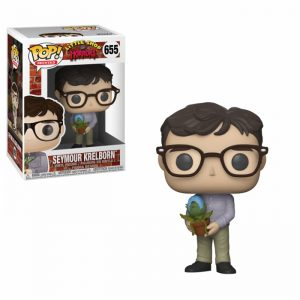 Seymour Krelborn with Audrey II Funko Pop