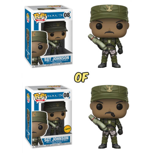 Sgt Johnson Funko Pop