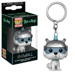 Snowball Pocket Pop Keychain