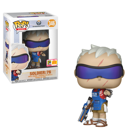 Soldier 76 Grillmaster SDCC Funko Pop