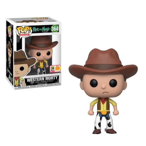 Western Morty Funko Pop