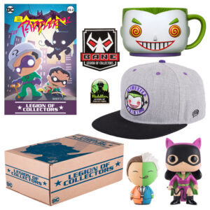 BATMAN VILLAINS BOX