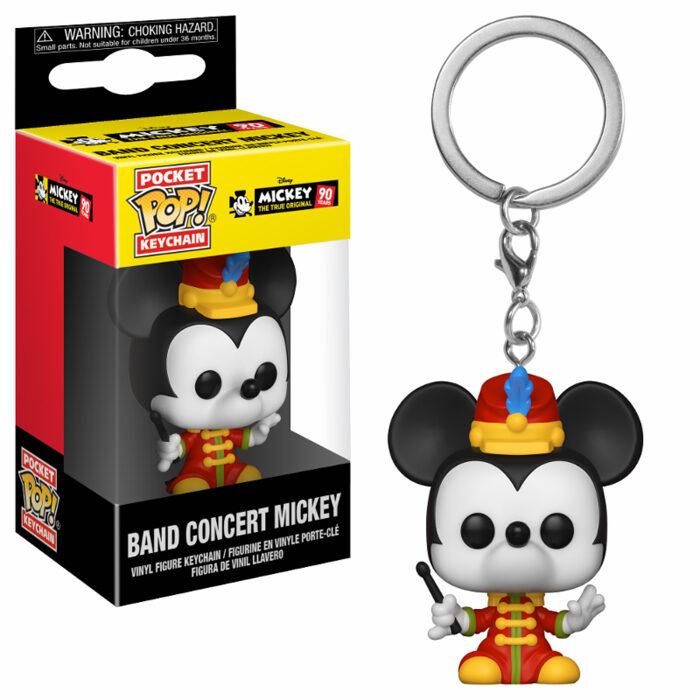 Band Concert Mickey Pocket Pop Keychain