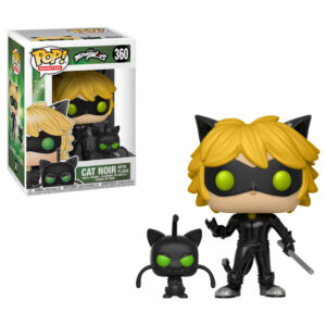 Cat Noir with Plagg Funko Pop