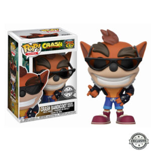 Crash Bandicoot with Biker Outfit Funko Pop