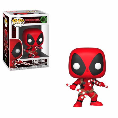 Deadpool Candy Canes Christmas Funko Pop