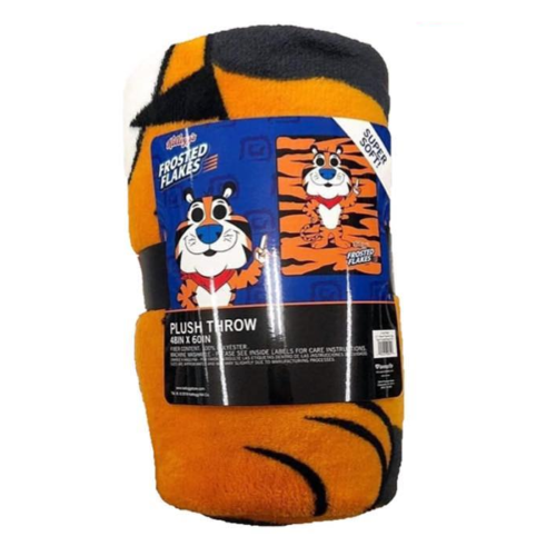 Frosted Flakes Plush Throw