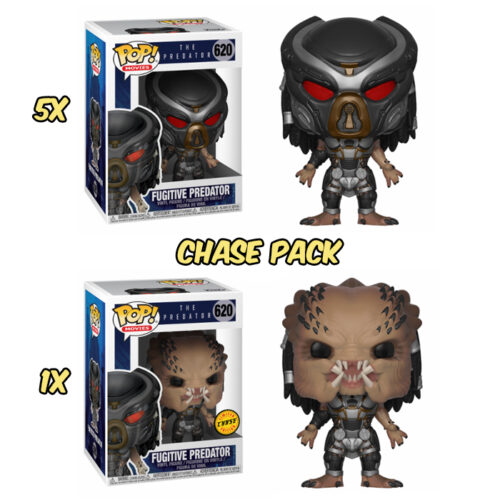 Fugitive Predator Funko Pop Chase Pack