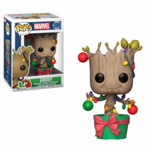 Groot Christmas Lights Funko Pop