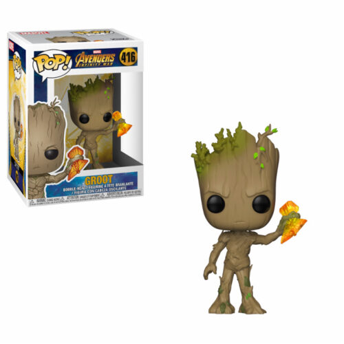 Groot with StormBreaker Funko Pop