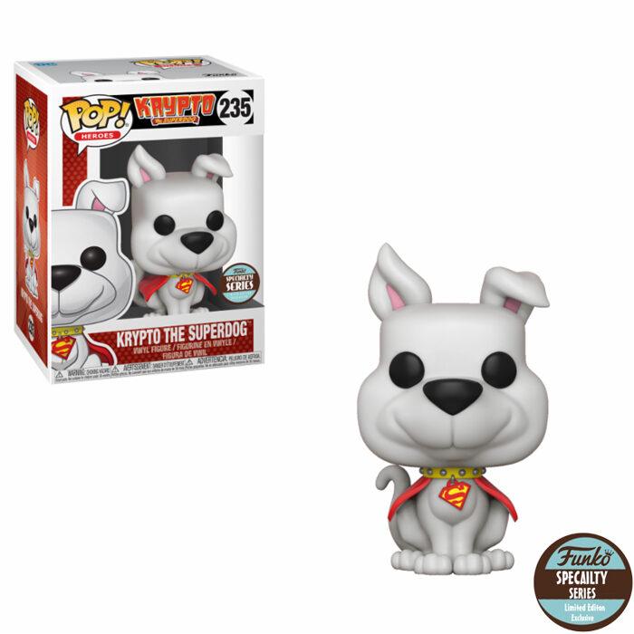 Krypto The Superdog Funko Pop