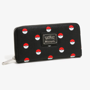Loungefly Pokémon Poké Ball Zip Wallet
