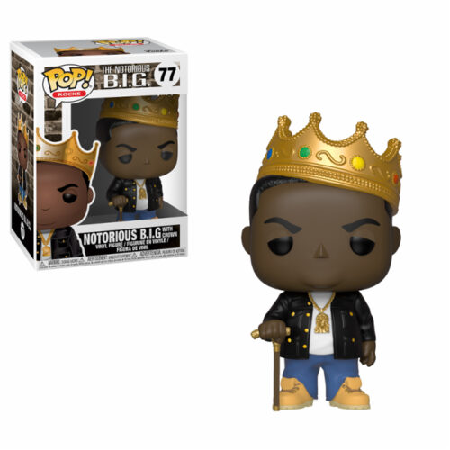 Notorious BIG with Crown Funko Pop