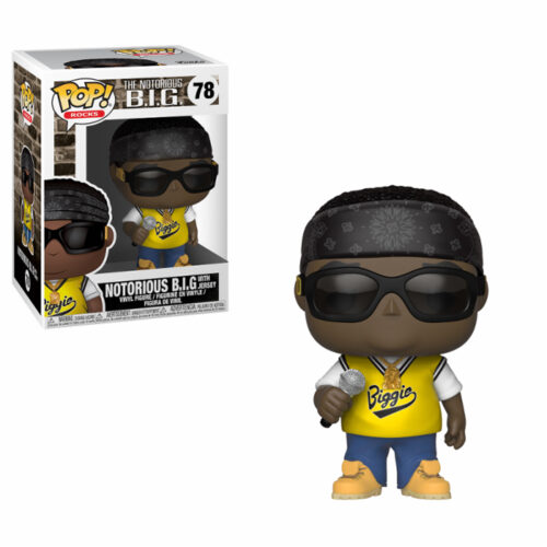 Notorious BIG with Jersey Funko Pop