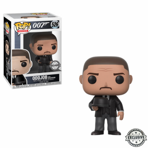 Oddjob Throwing Hat Funko Pop