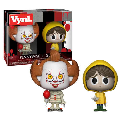 Pennywise and Georgie Vynl 2-pack