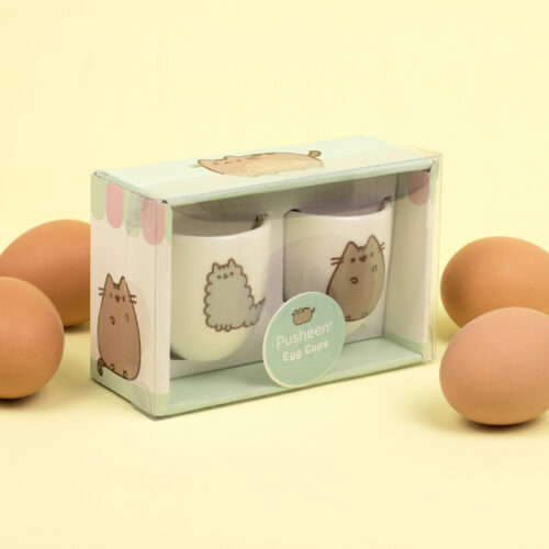 Pusheen Egg Cups