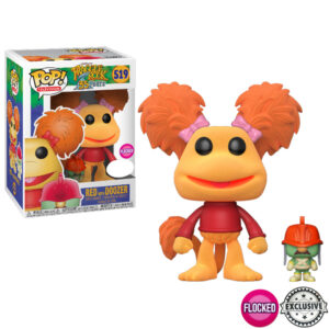 Red with Doozer Flocked Funko Pop