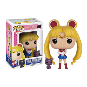 Sailor Moon with Luna Funko Pop