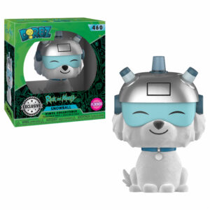 Snowball Flocked Dorbz