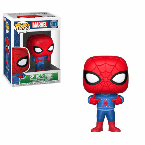 Spider-man Ugly Sweater Funko Pop