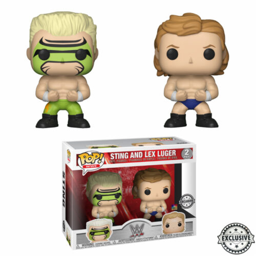 Surfer Sting and Lex Luger WWE Funko Pop 2-pack