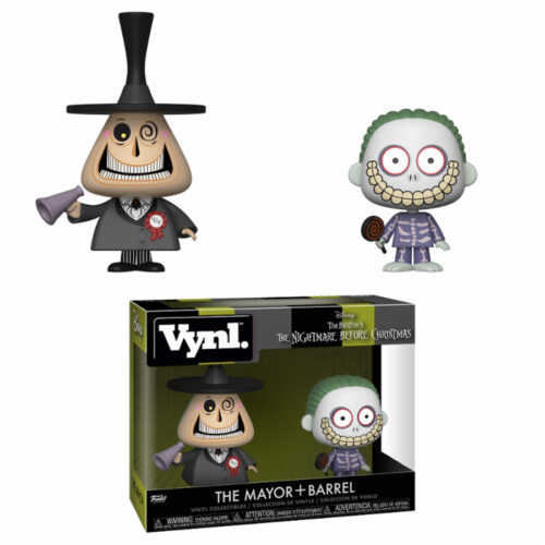 The Mayor and Barrel Vynl 2-pack