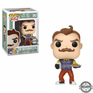 The Neighbor with Milk and Cookies Funko Pop