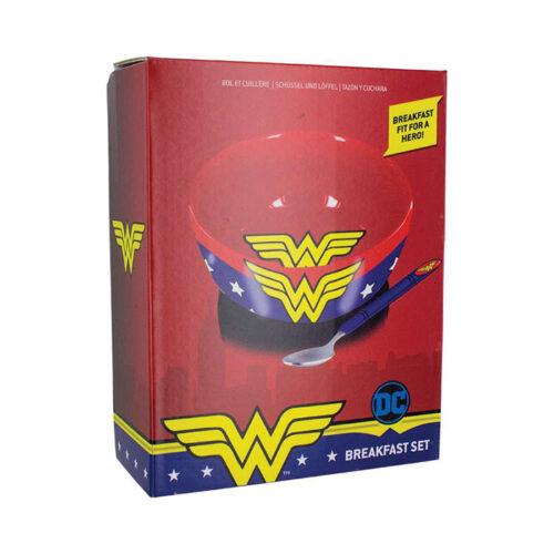 Wonder Woman Ontbijt Set