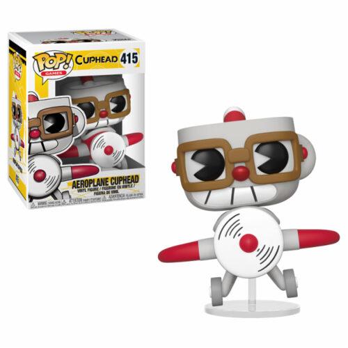 Aeroplane Cuphead Funko Pop