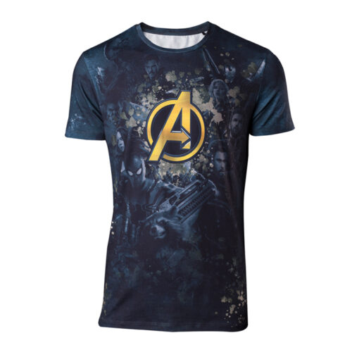 Avengers Infinity War All Over Print T-shirt