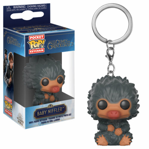 Baby Niffler Grey Pocket Pop! Keychain