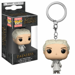 Daenerys White Coat Pocket Pop Keychain