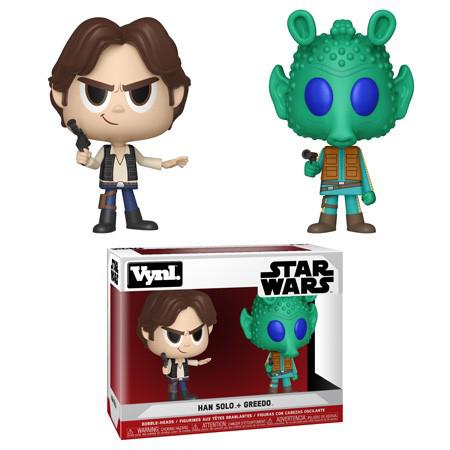 Han Solo & Greedo Funko Vynl 2-pack