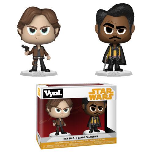 Han Solo & Lando Calrissian Vynl 2-pack