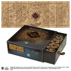 Harry Potter The Marauder's Map Cover Puzzle