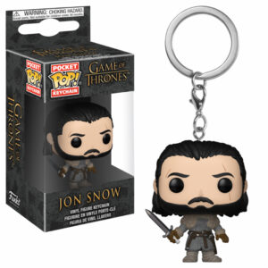 Jon Snow Pocket Pop Keychain